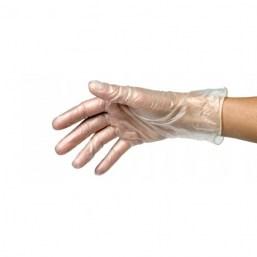 Rękawiczki rozmiar S nitrylowe różowe