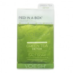 Zestaw Do Pedicure 4 KROKI - GREEN TEA DETOX
