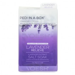 Zestaw Do Pedicure 4 KROKI -LAVENDER RELIEVE
