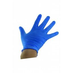 Rękawiczki rozmiar L nitrylowe niebieskie